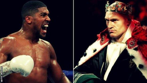 Anthony Joshua wants Wembley to host Tyson Fury fight thumbnail