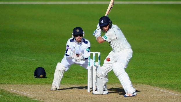 Ian Bell batting