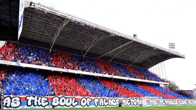 Selhurst Park fans