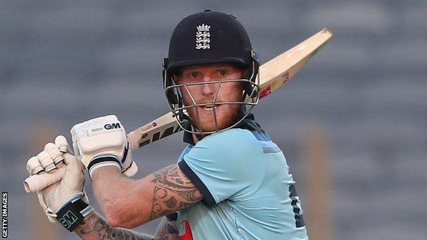 Stokes has been absent from England duty after sustaining a broken finger in April