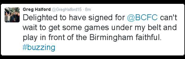 Greg Halford on Twitter