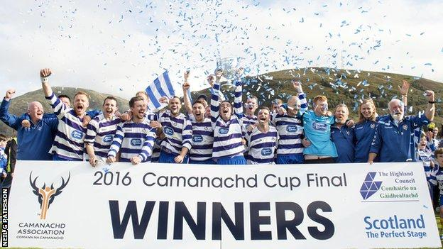 Newtonmore are the Camanachd Cup champions once again