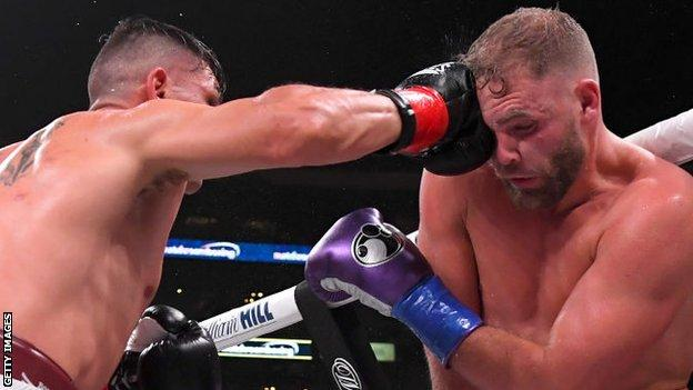 Billy Joe Saunders now has 29 wins from as many fights