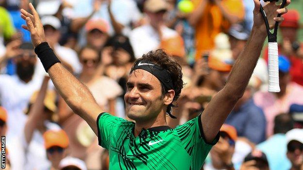Roger Federer has won 19 of his 20 matches in 2017