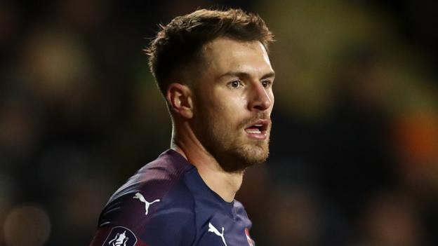 Aaron Ramsey: Juventus leading race to sign Arsenal and Wales midfielder thumbnail