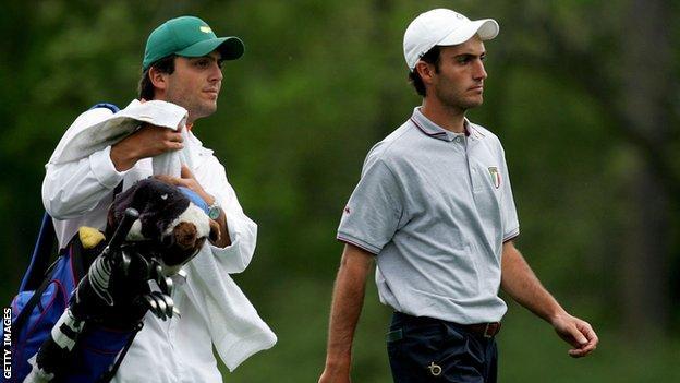 Francesco Molinari & Edoardo Molinari at the 2006 Masters