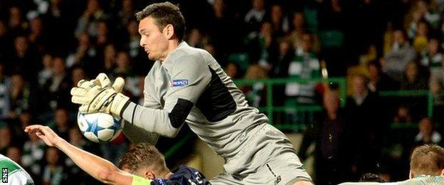Craig Gordon was 'disappointed' to concede a second goal so late in the game