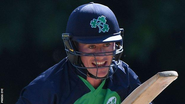 Sean Terry made his first Ireland appearance earlier this summer