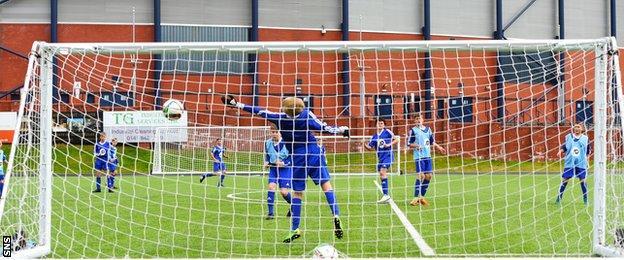 Scottish FA performance school players