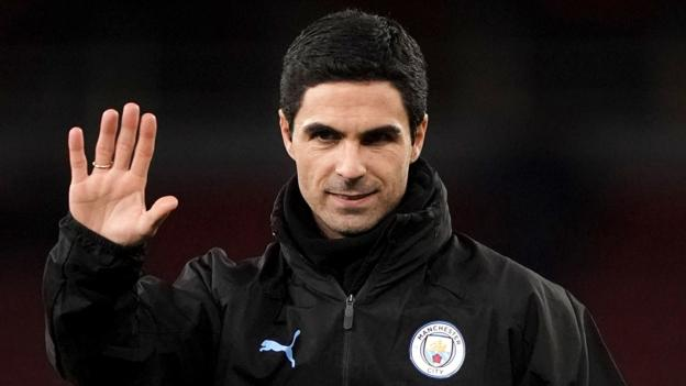 Mikel Arteta: Arsenal meet Man City coach over manager role thumbnail