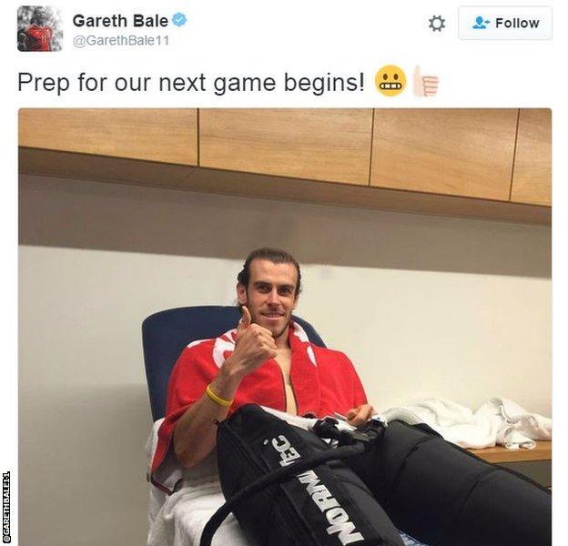 Gareth Bale Twitter