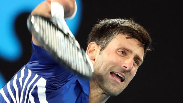 Australian Open 2019: Novak Djokovic beats Lucas Pouille to set up Rafael Nadal final thumbnail