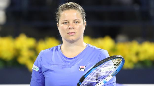 Kim Clijsters: Belgian shines in comeback defeat by Garbine Muguruza thumbnail