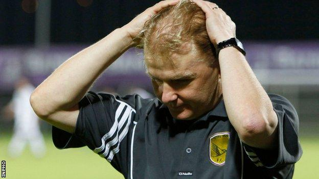 Liam Buckley was Sporting Fingal's only manager from the start to the finish of the project