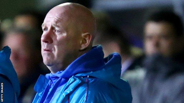 Acting Sutton boss Ian Baird
