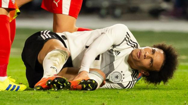Germany 1-1 Serbia: Leroy Sane 'lucky' after 'vicious foul' in draw thumbnail