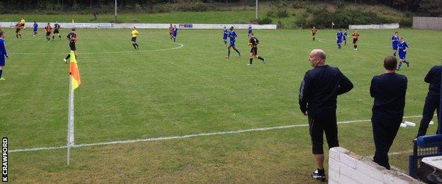 Huntly progressed into the Scottish Cup second round by beating Hawick Royal Albert 3-0