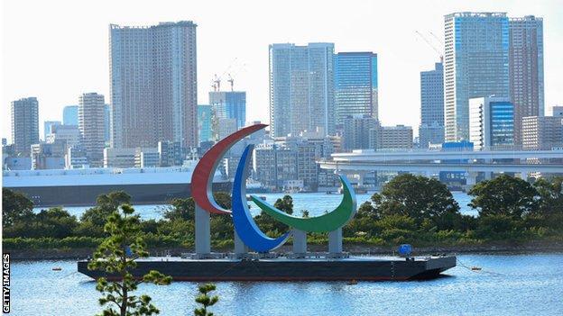 The Agitos symbol in Tokyo