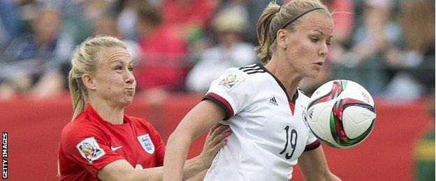 England v Germany