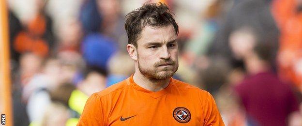 Dundee United midfielder Paul Paton