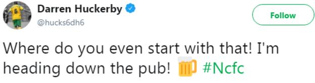 Darren Huckerby on Twitter