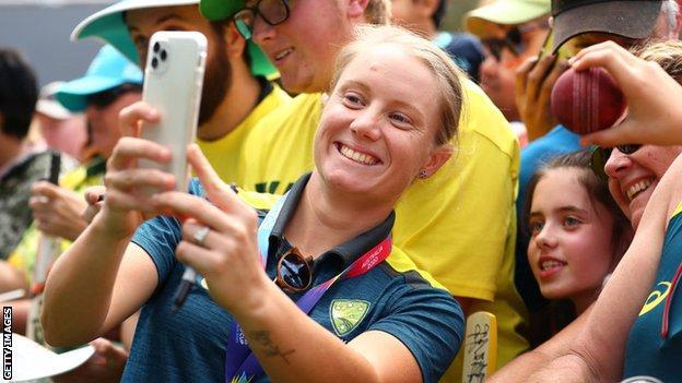 Australia's Alyssa Healy