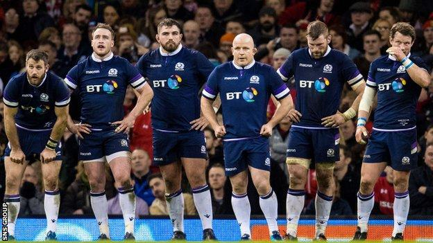 Scotland were routed in the Six Nations opener against Wales in Cardiff