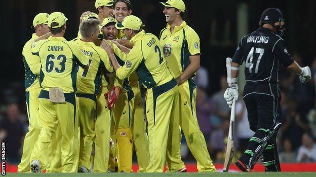 Australia v New Zealand ODI