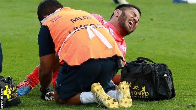 Manu Tuilagi injured