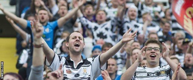 Hull FC fans at Magic Weekend