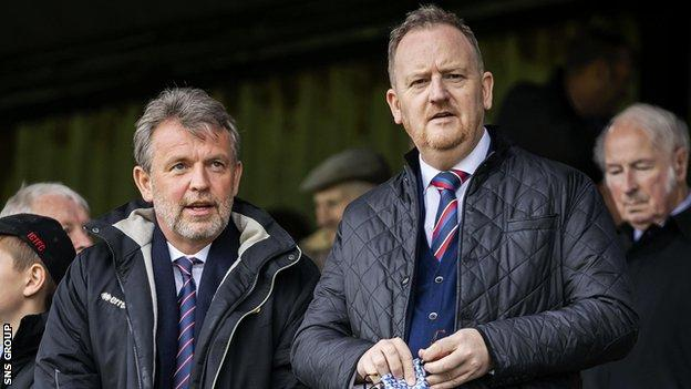 Inverness CT chief executive Scot Gardiner laid out the communications between Championship clubs via WhatsApp
