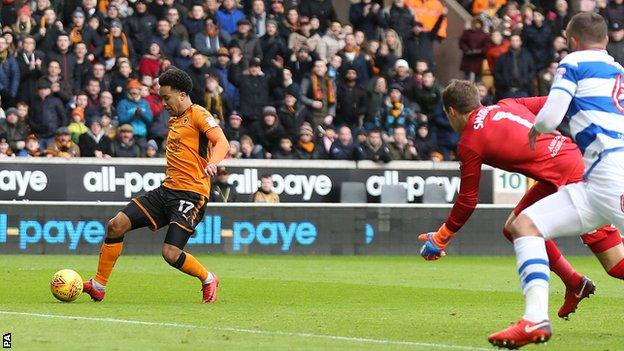 Helder Costa scores for Wolves