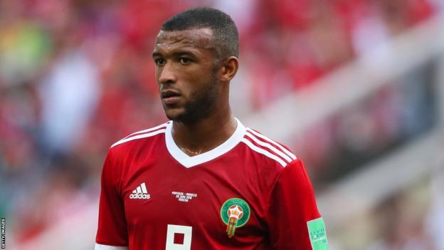 Morocco striker Ayoub El Kaabi