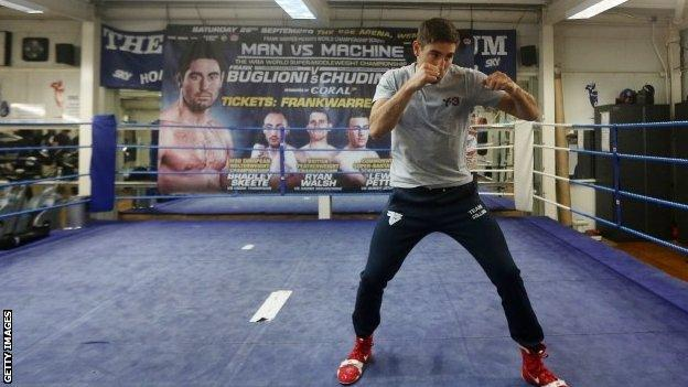 Frank Buglioni shared a draw with Lee Markham in his fight before last