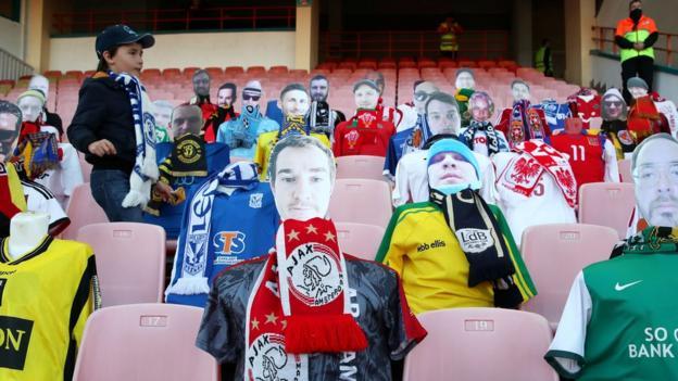 Fans installed on seats in Belarus