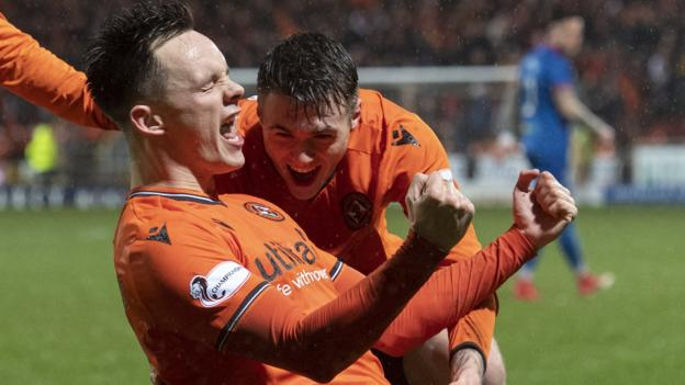 Dundee United 2-1 Inverness CT: Hosts move 21 points clear at summit thumbnail