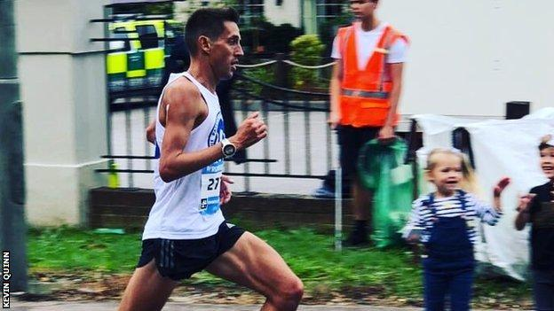 London Marathon 2019: Kevin Quinn