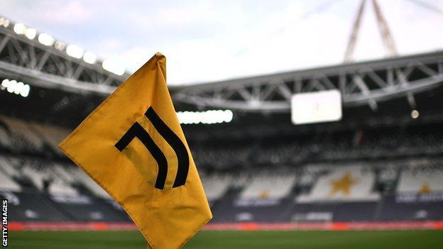 Juventus corner flag