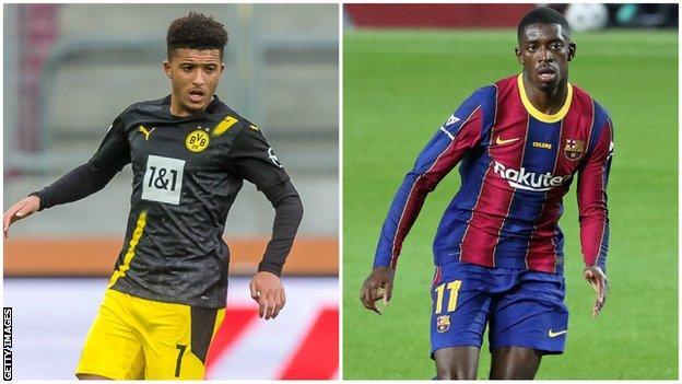 Man Utd transfer news: Jadon Sancho & Ousmane Dembele deals unlikely thumbnail