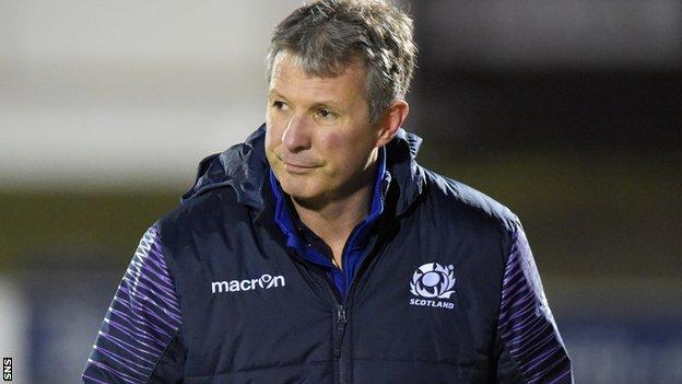 Scotland youth coach Sean Lineen