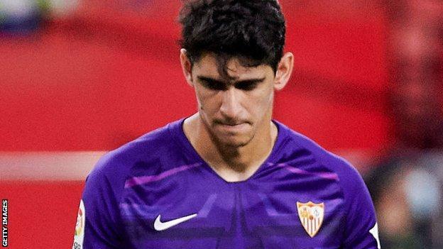 Sevilla'nın Yassine Bounou