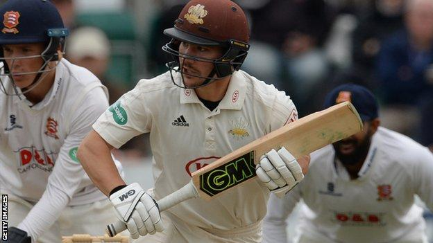 Rory Burns in action against Essex