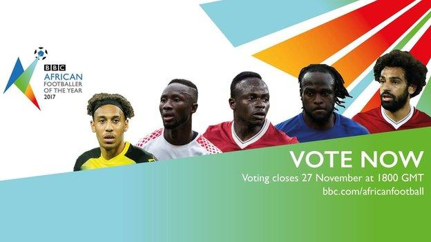 African Footballer of the Year vote