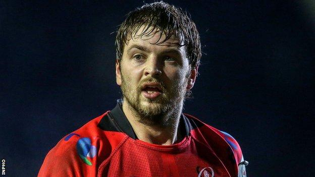 Iain Henderson sustained a sprained knee in Ireland's penultimate Six Nations game against France