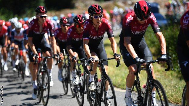 The Tour de l'Ain is Geraint Thomas' first competitive race of the season