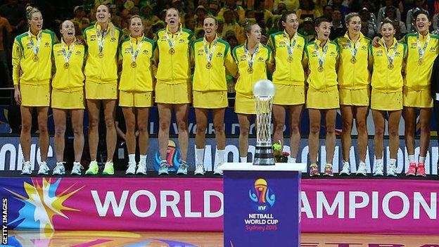 Australia won the world Cup in 2015