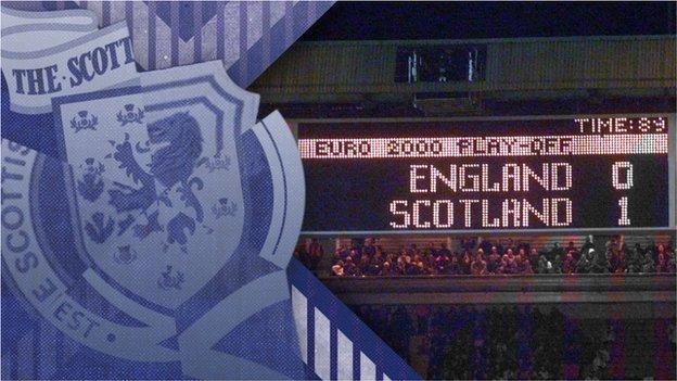 England v Scotland graphic