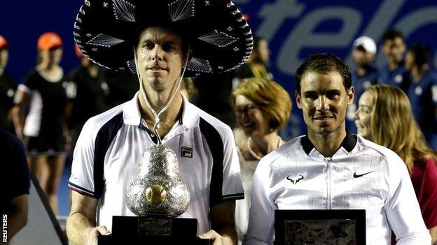 Sam Querrey and Rafael Nadal