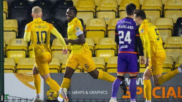 Livingston have won two out of two under interim head coach David Martindale