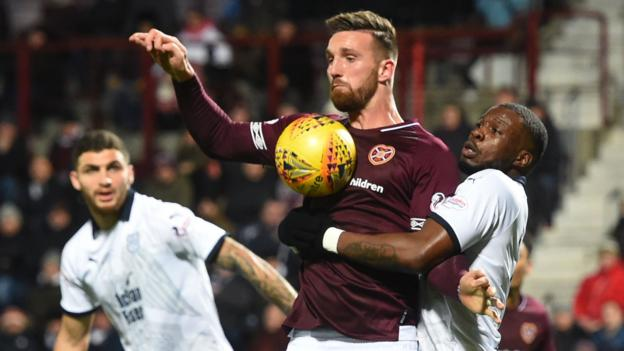 David Vanecek wasn't at the races, says Hearts boss Levein after loss to Dundee thumbnail